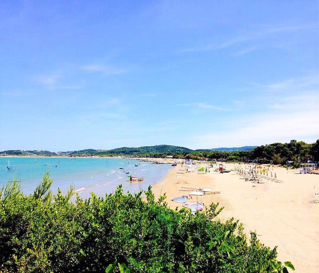 spiaggia di capo vieste