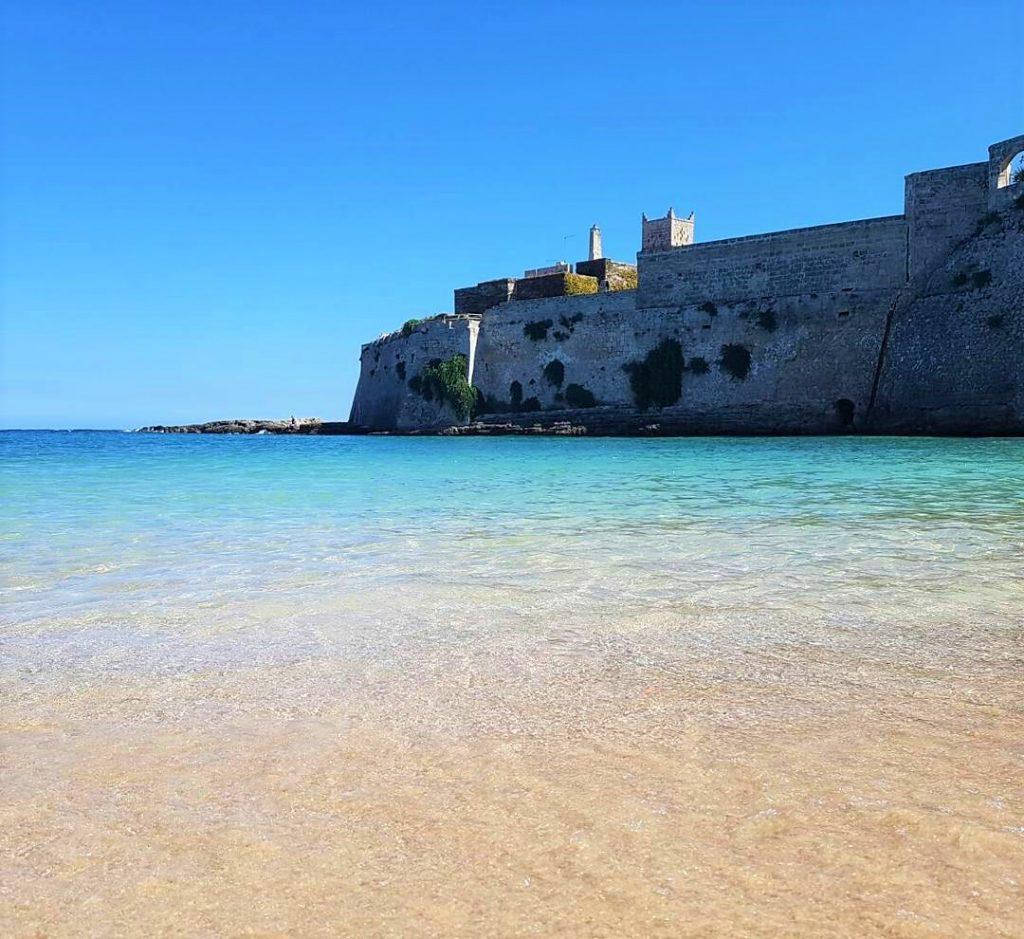 best beach in italy puglia