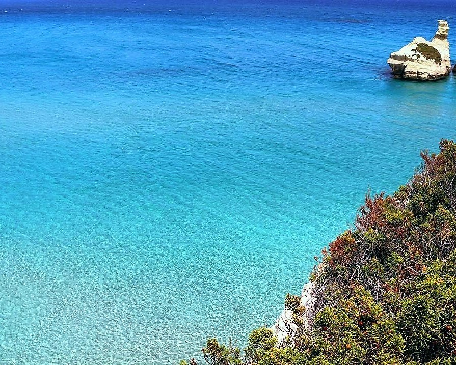 torre dell'orso secretsand salento best beach italy