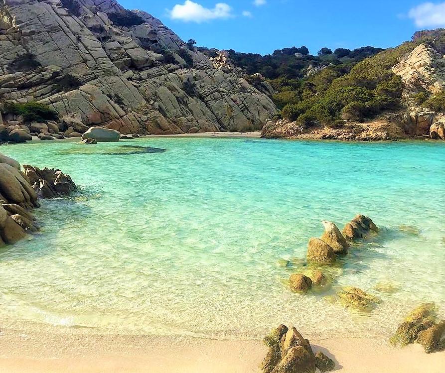 cala napoletana Sardinia beach