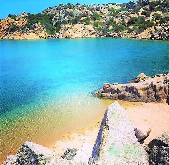 cala spalmatore sardinia beach