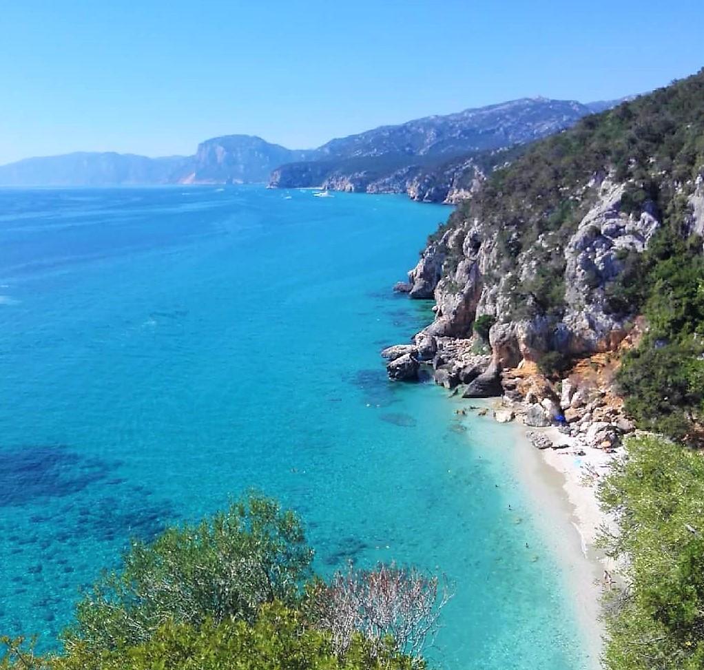 cala fuili Sardegna spiaggia beach